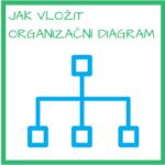 VIDEO: Jak vložit ogranizační diagram