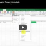 VIDEO:Jak zjistit počet hodnot, které jsou mezi dvěma časovými údaji